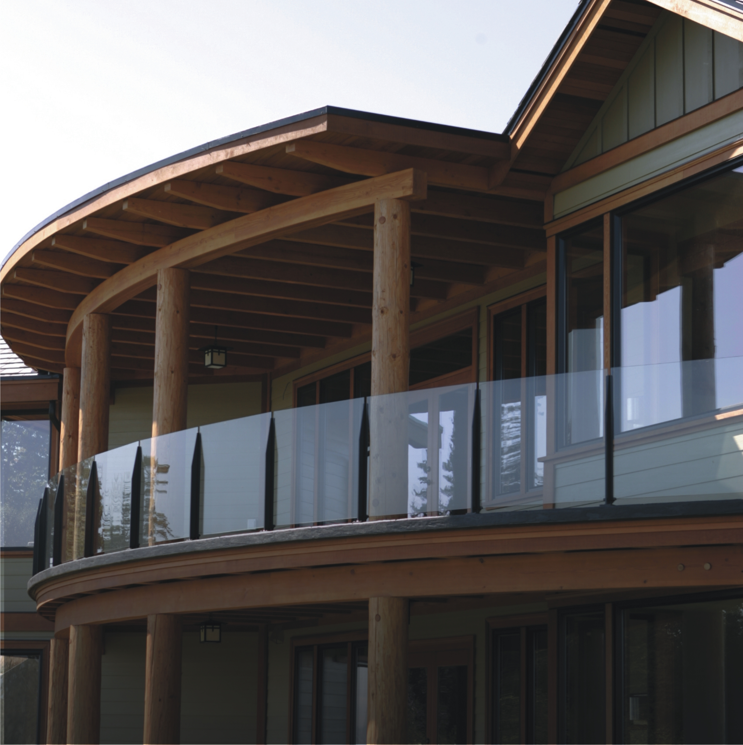 1000 images about deck ideas on pinterest for Glass balcony railing